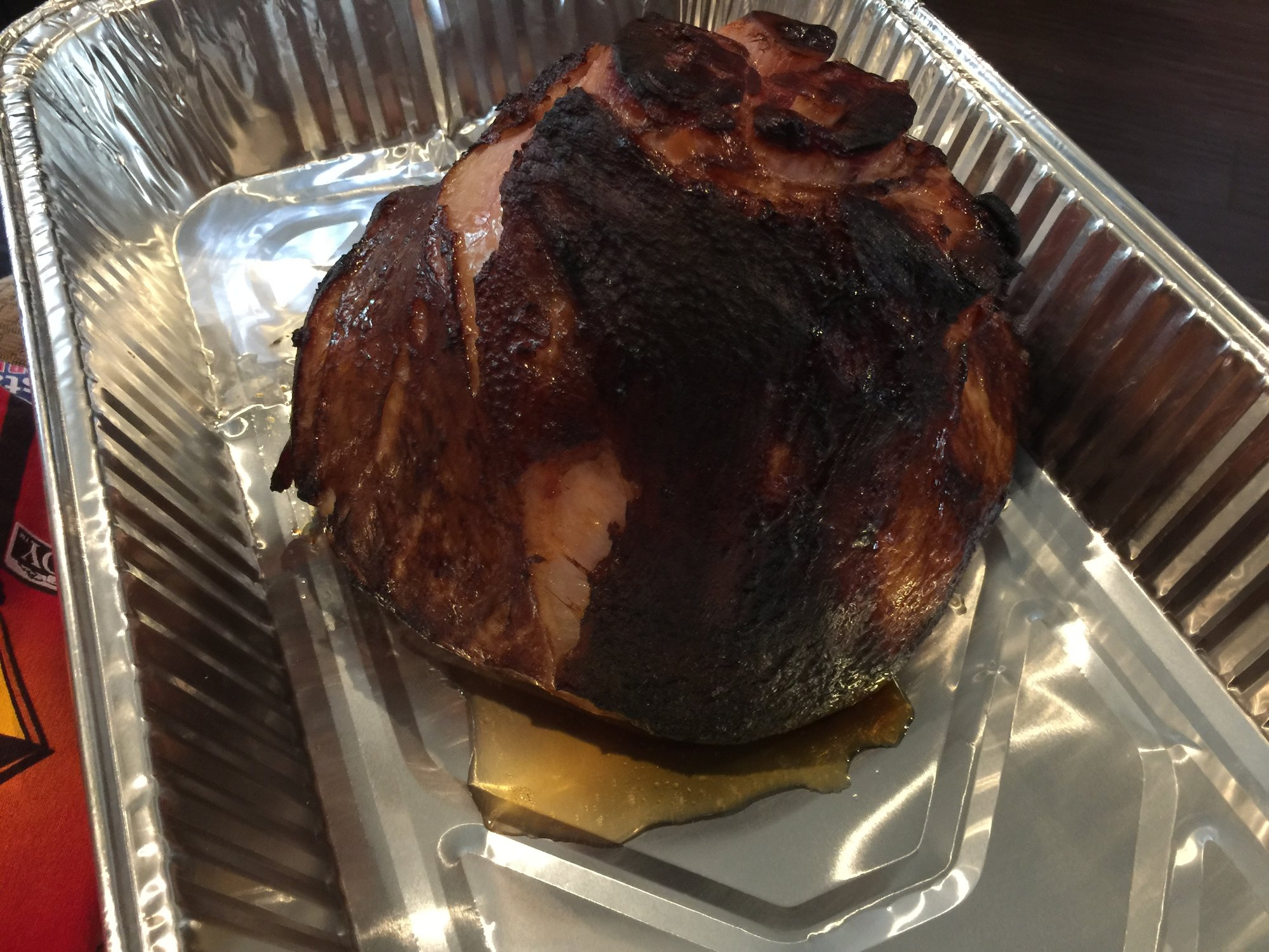 Christmas Brisket and Ham. Daughters first Christmas — Big ...