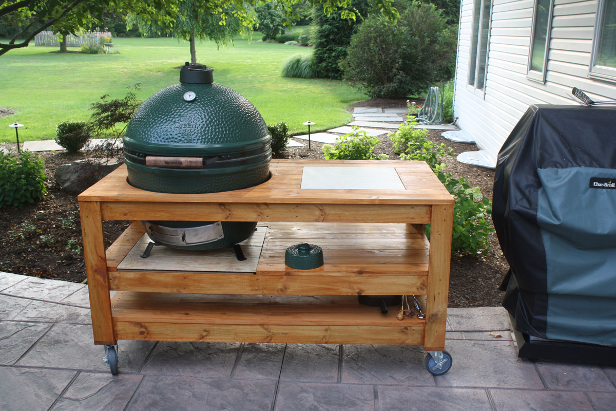 Xl Big Green Egg Table Cover Dimensions Designs
