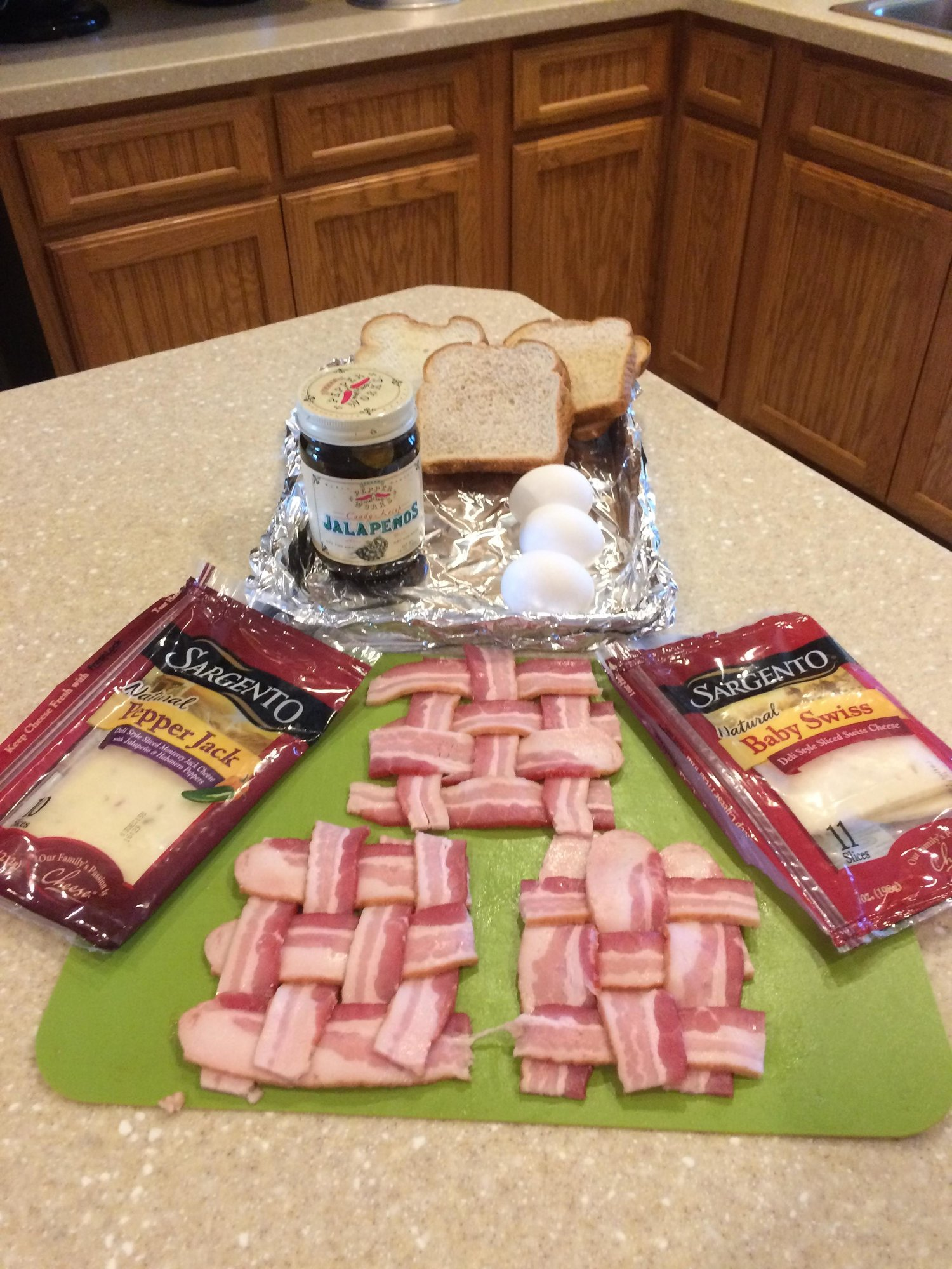 Bacon And Egg Sandwich With Pepper Jack Recipe — Dishmaps