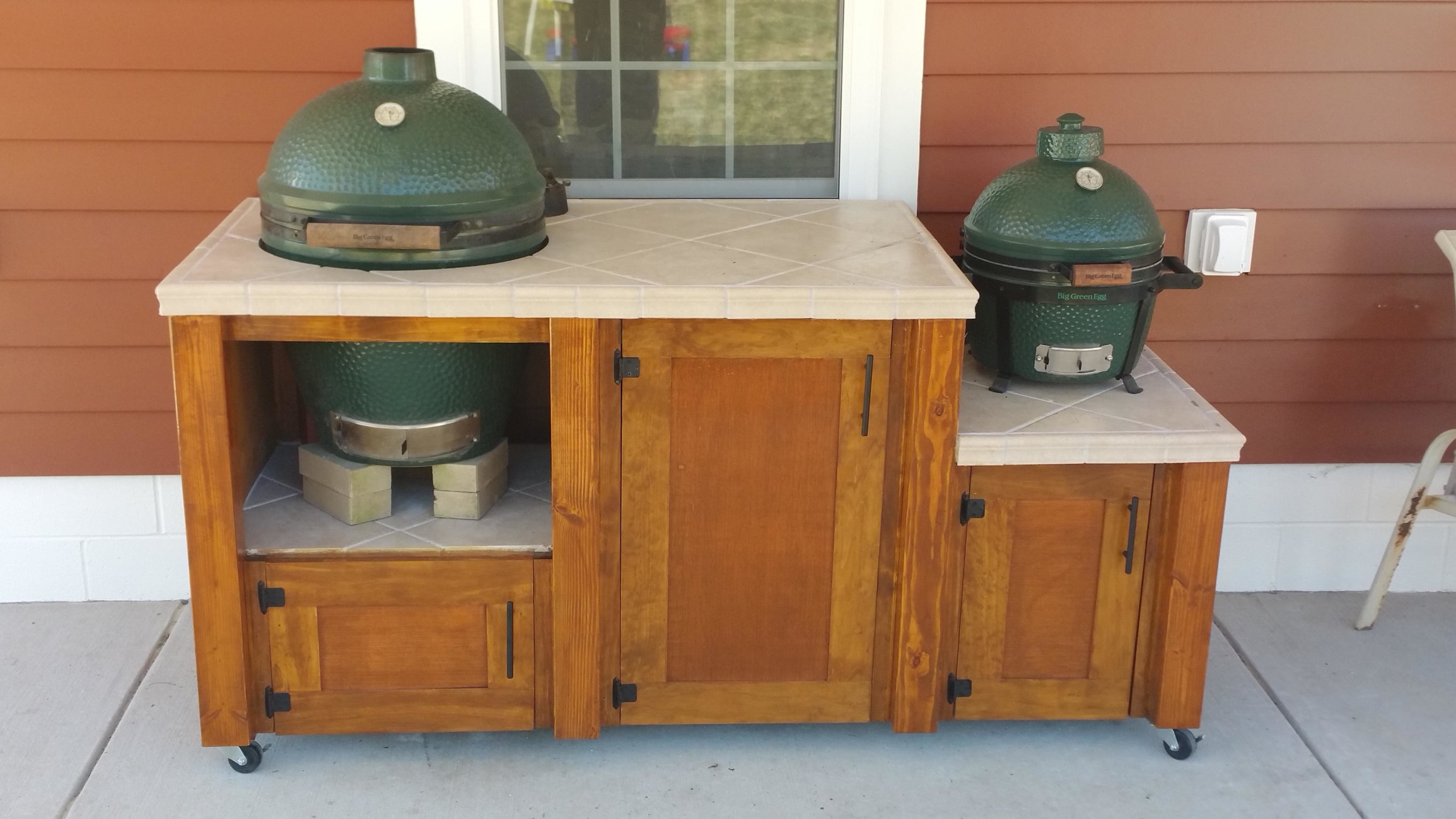 Xl Big Green Egg Table Cover Dimensions Design Ideas