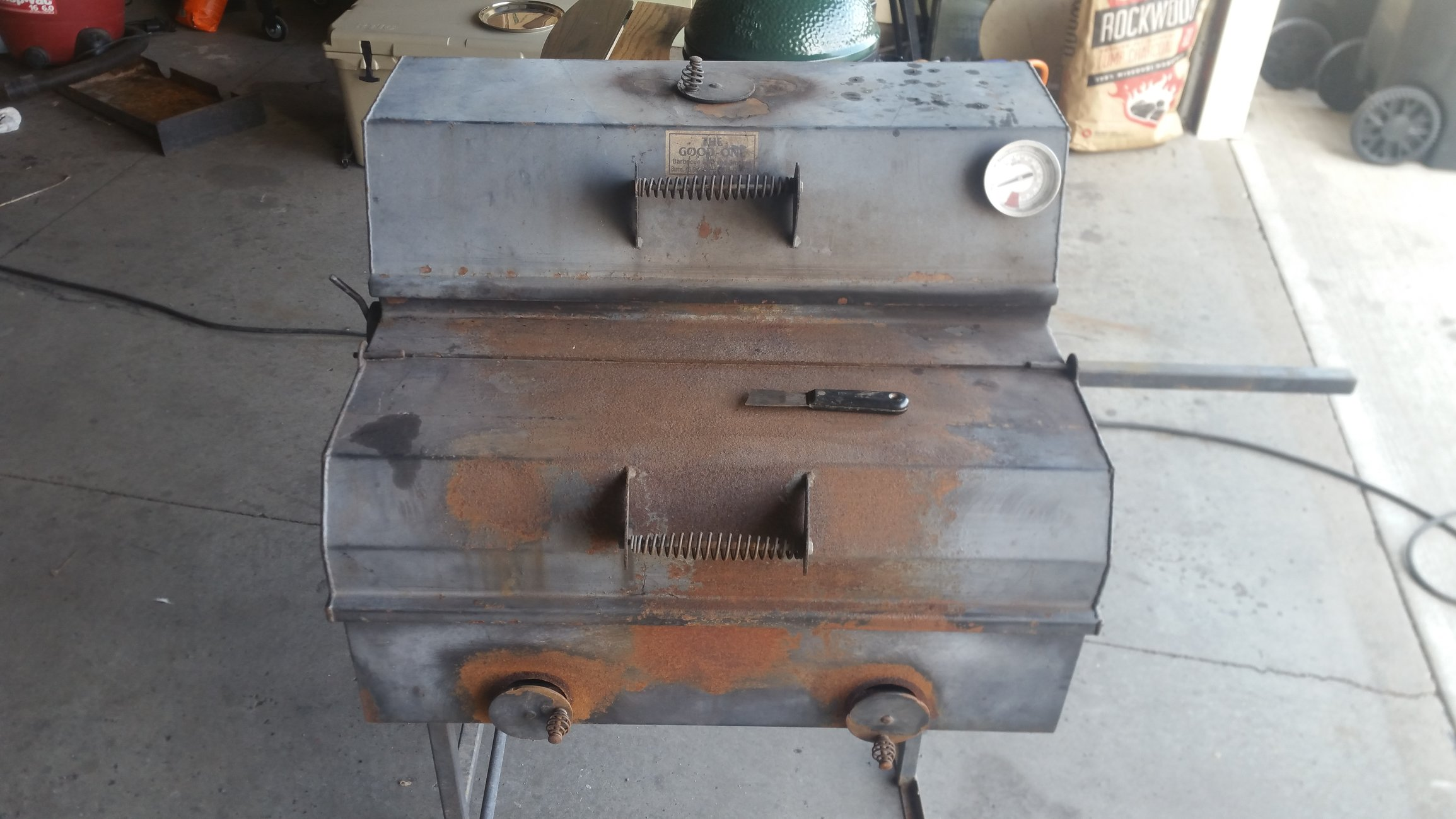 Sandblasting A Smoker Question Big Green Egg Egghead Forum The Ultimate Cooking Experience