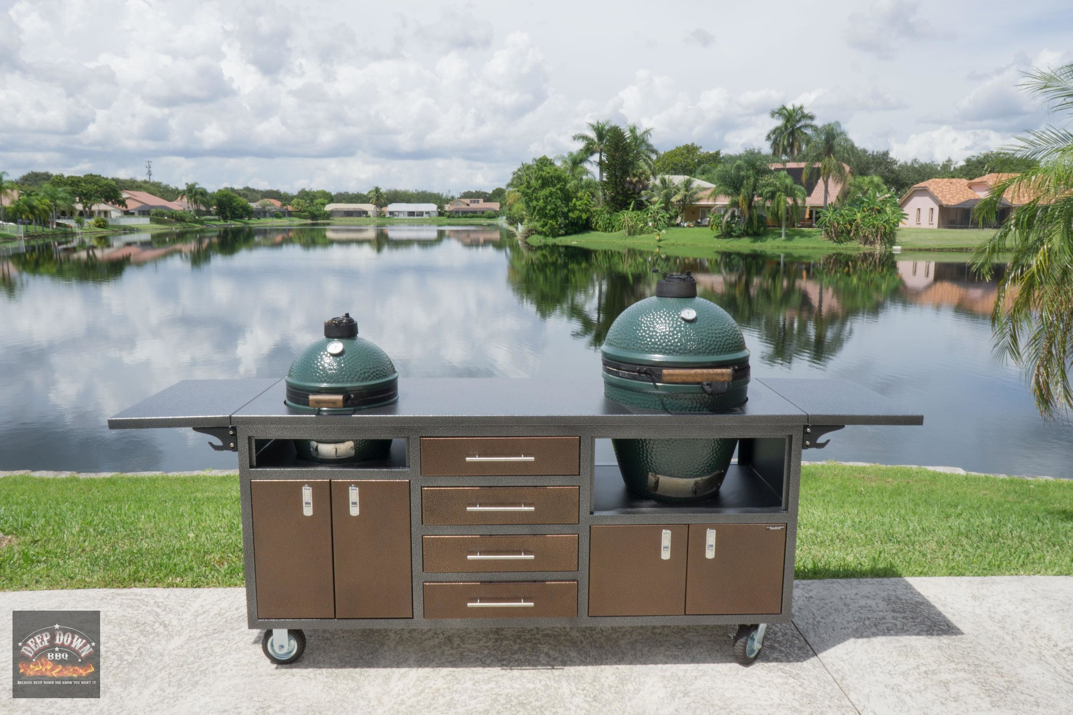Challenger Cart for Large and Mini Max — Big Green Egg - EGGhead ...