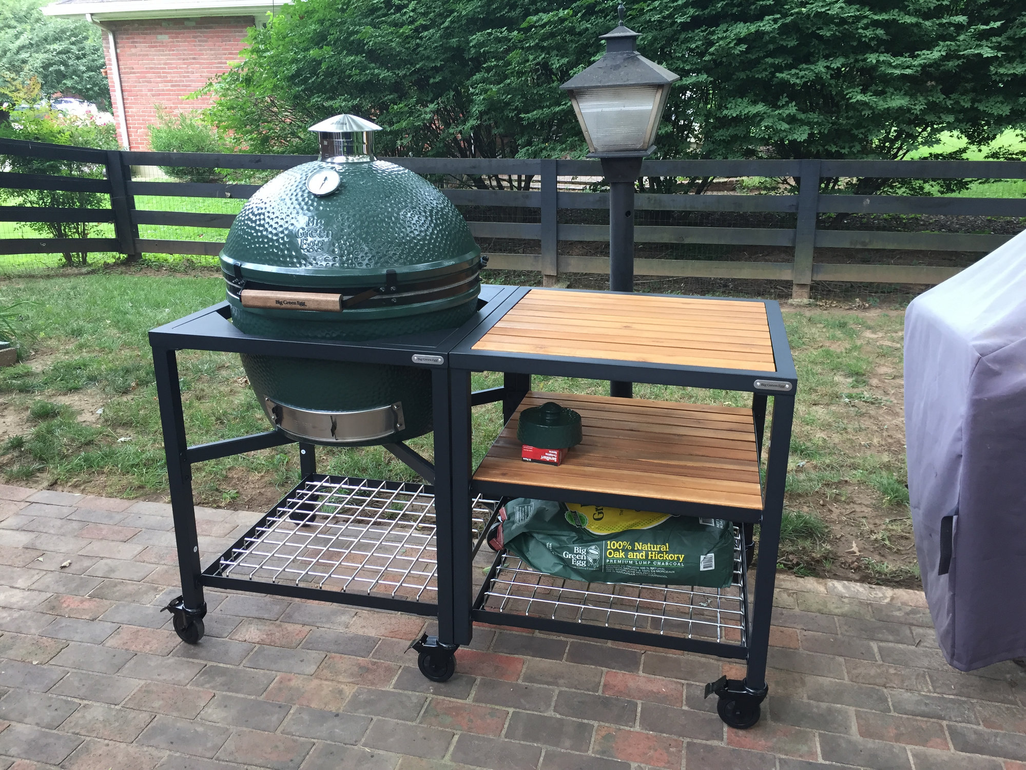 First Egg Xl Modular Table And Cover Big Green Egg