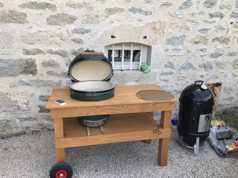 Egg table in france big green egg egghead forum the ultimate cooking experience - Magasin bricolage gap ...