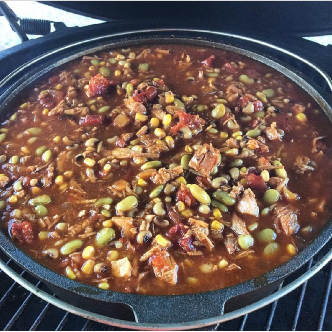 Dutch Oven Brunswick Stew