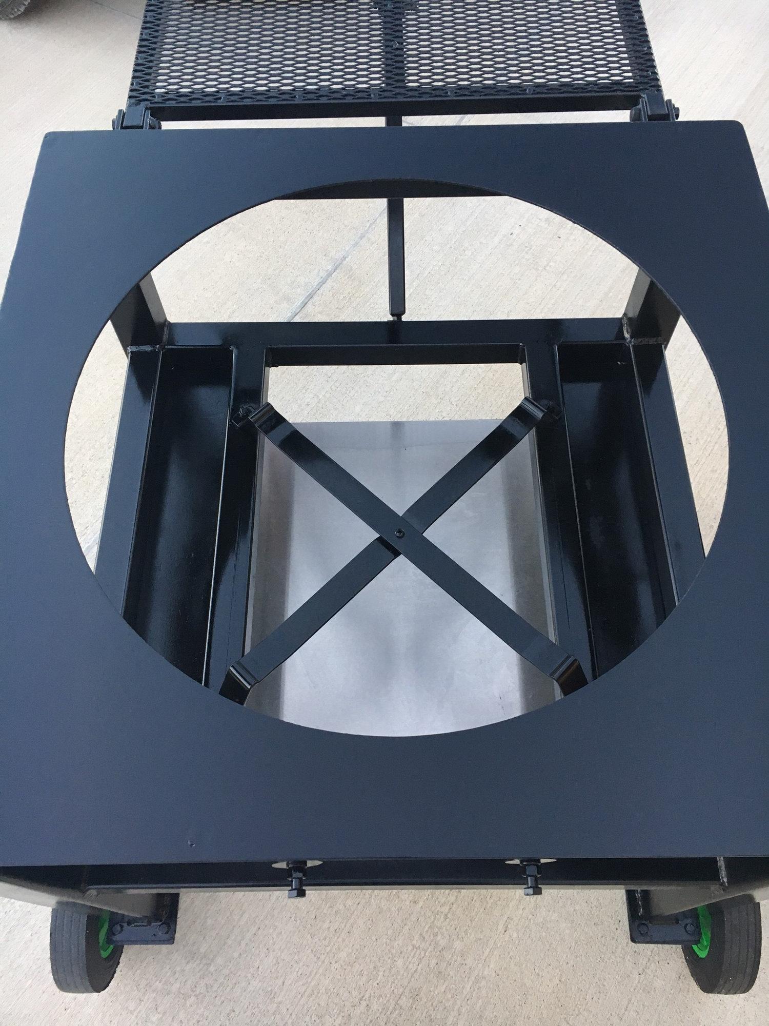 Custom Xl Table Cart For Sale Big Green Egg Egghead Forum The