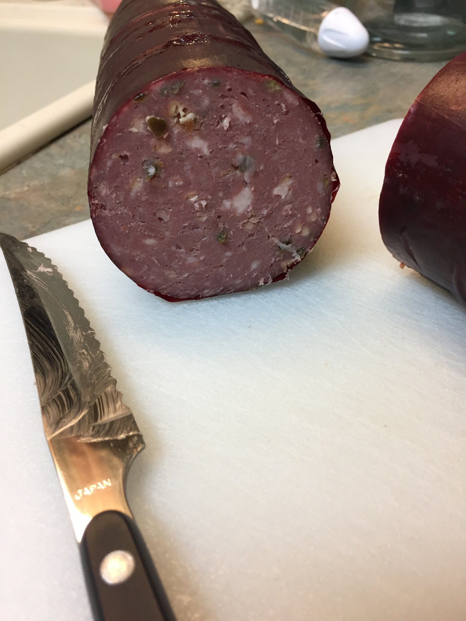 how to cook deer summer sausage