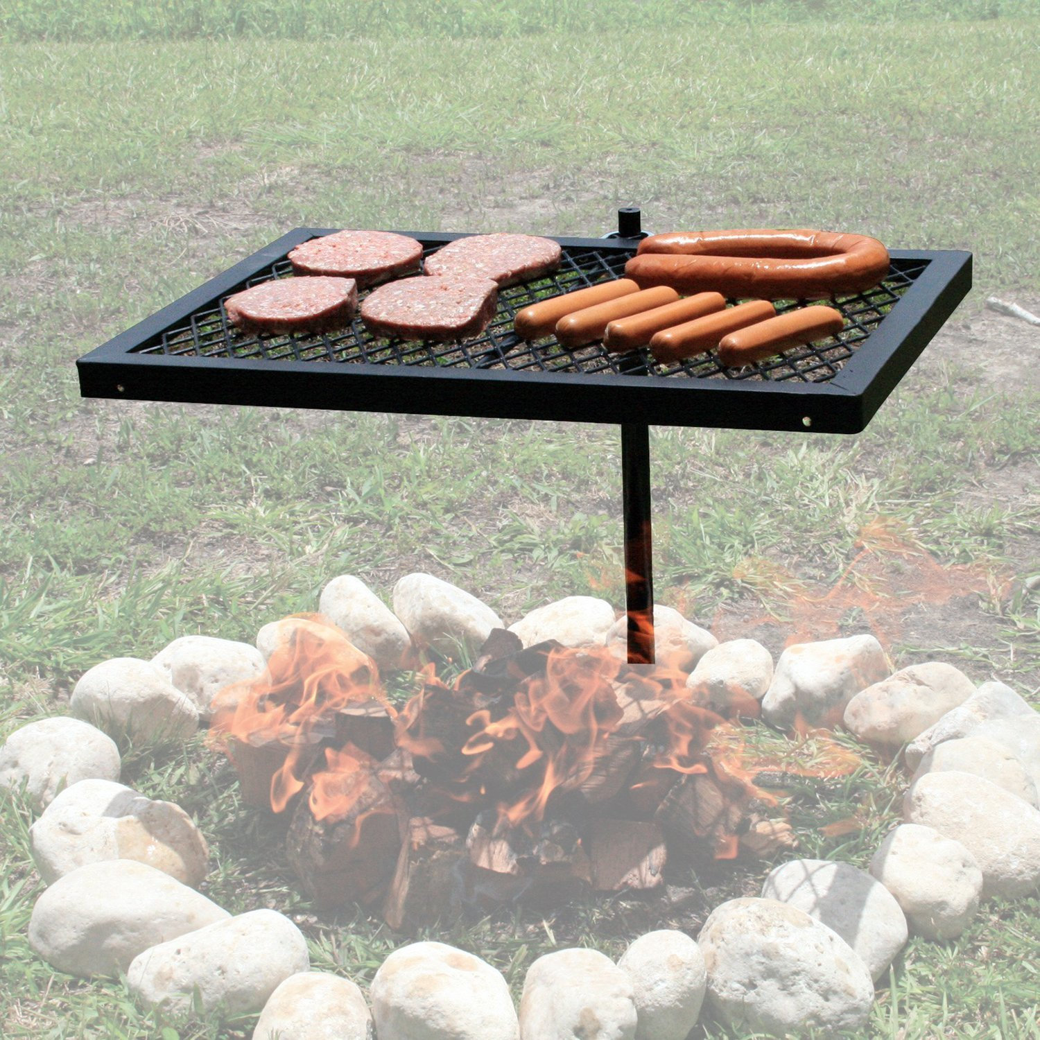 fire pit owners with cooking grates u2014 big green egg egghead
