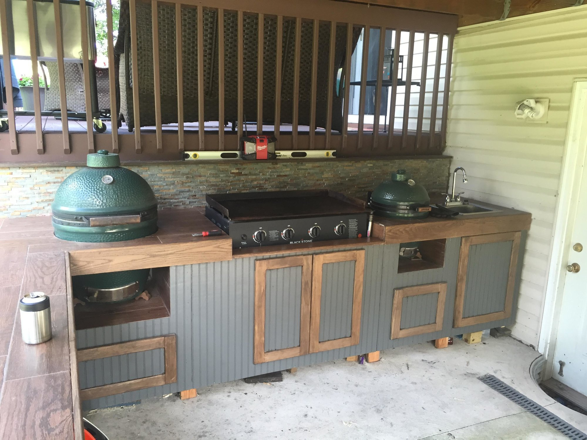 Outdoor Kitchens Green Egg