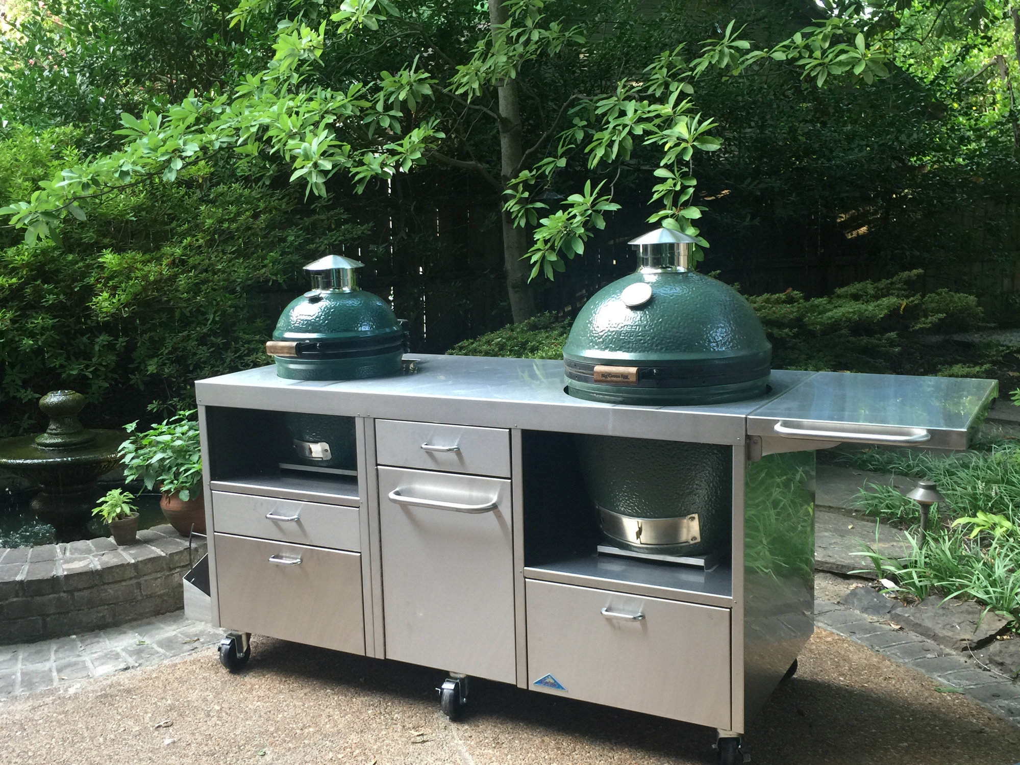 New Table And Refurbished Eggs Big Green Egg Egghead