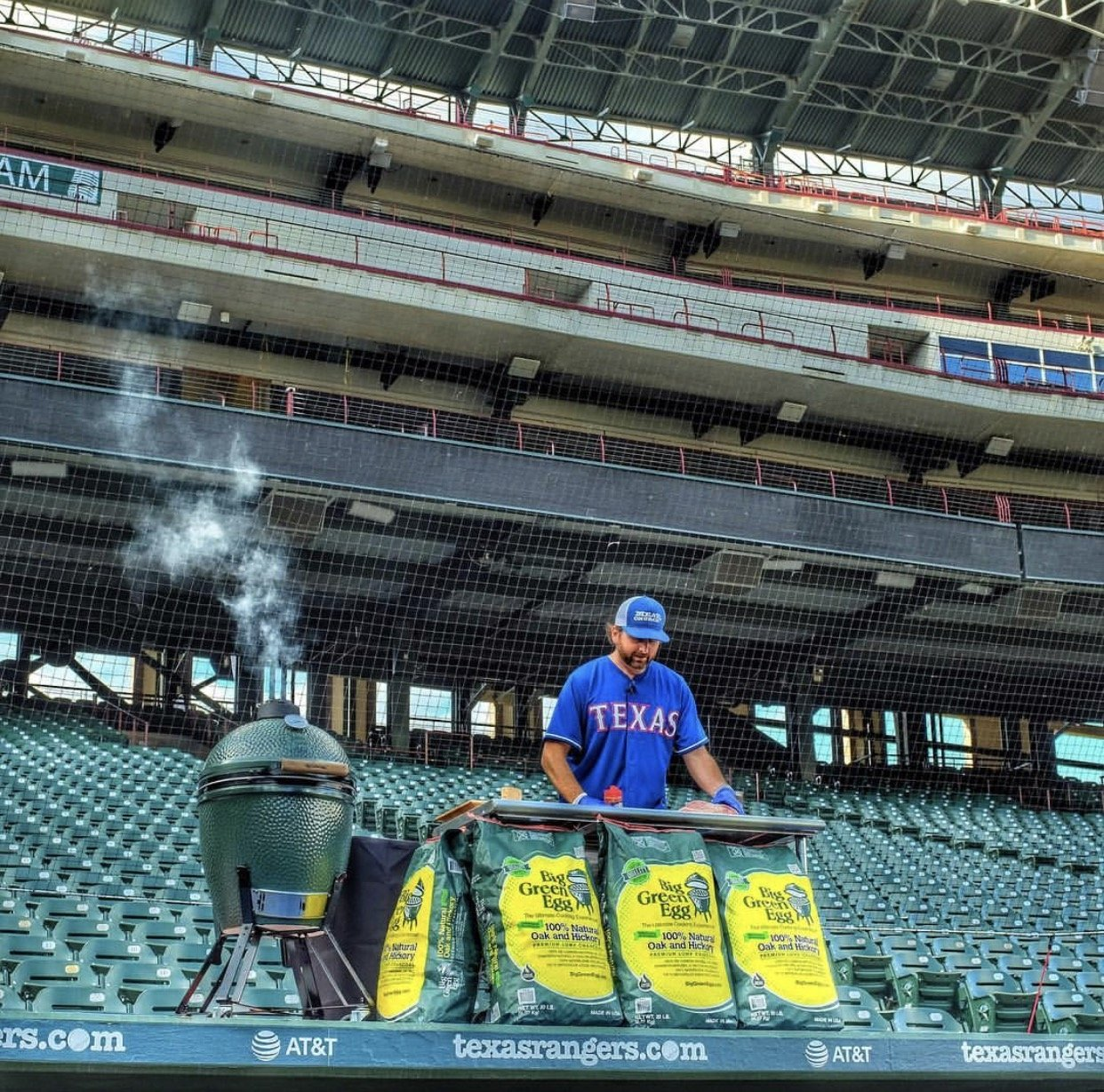 Big Green Egg Cooking Class At Globe Life Park