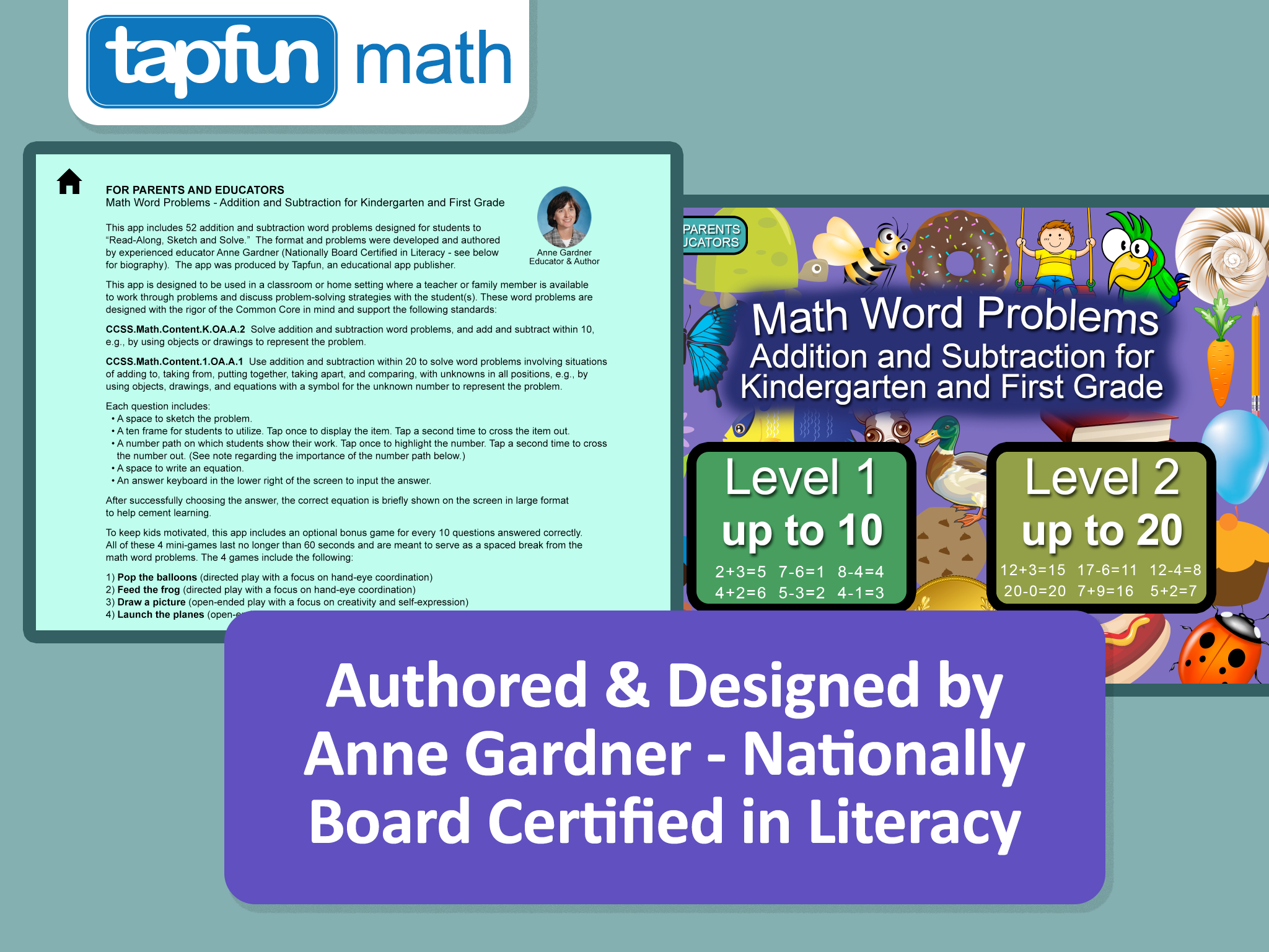 Math Word Problems for Kindergarten and First Grade (iPad) — Welcome ...