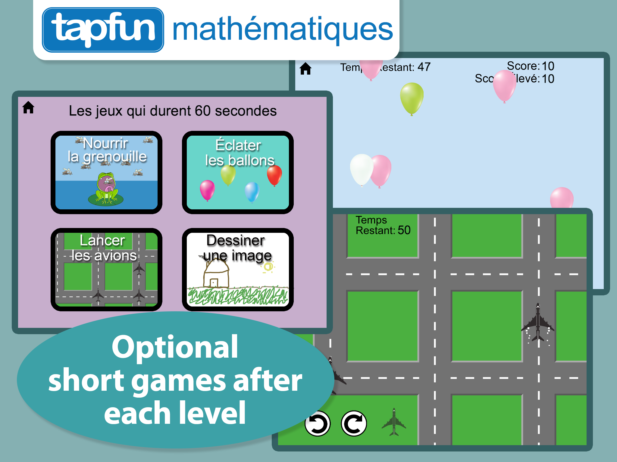 Math Word Problems in French - Designed for Kindergarten and First ...