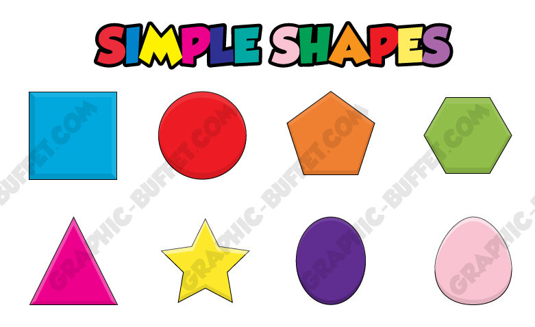 shapes examplejpg - Simple Shapes