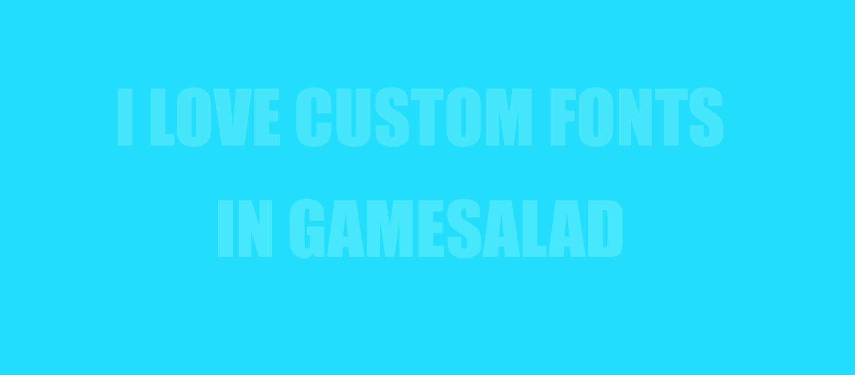 Gamesalad custom fonts - Screen Shot 2016 06 15 At 12 43 43 Pm Png