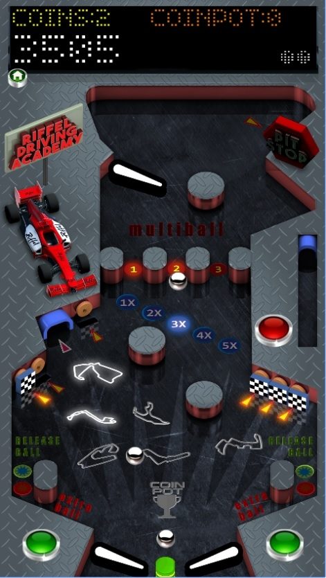 New Riffel's Pinball Game - With new GameSalad features