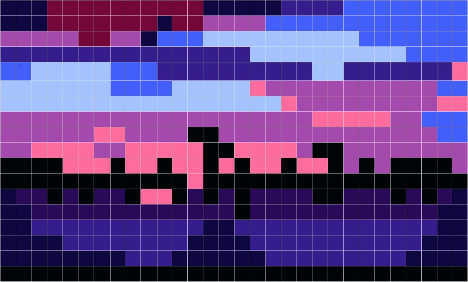 Images from Photos to 16 bit Square/ Hexagonal Grid Images