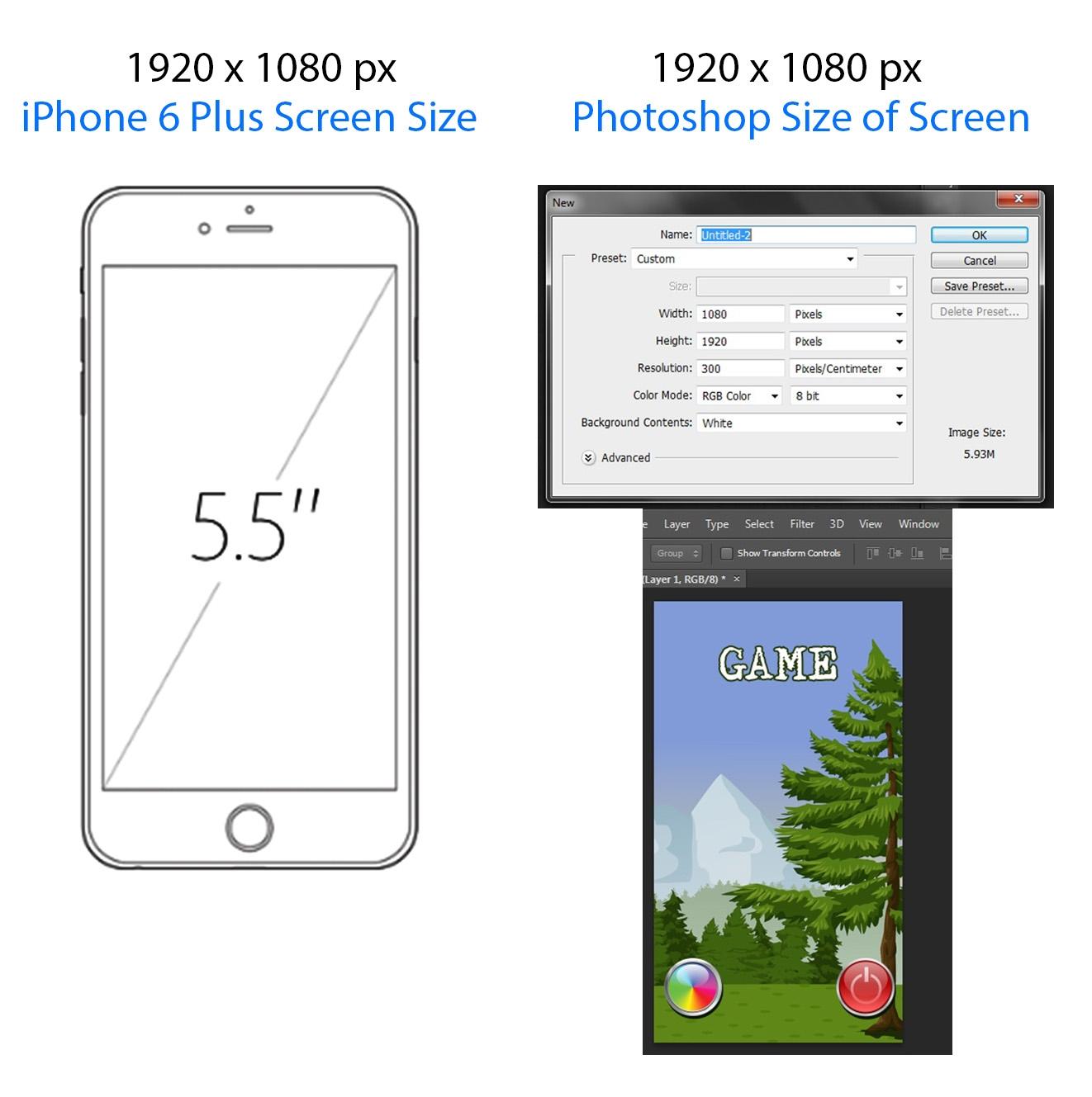 Iphone 6 Background Size Pixels