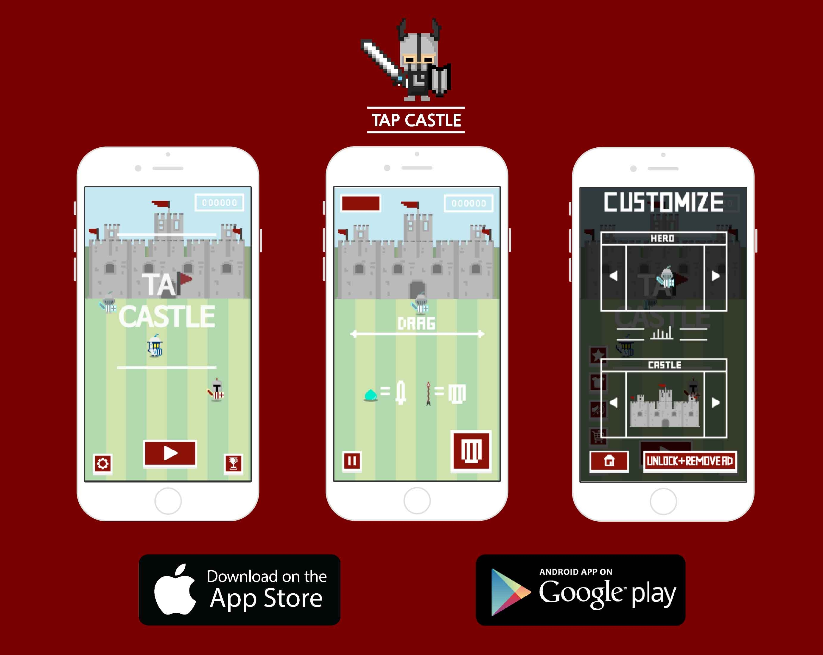 My first game: Tap Castle(iOS, Android)- Free app — Welcome