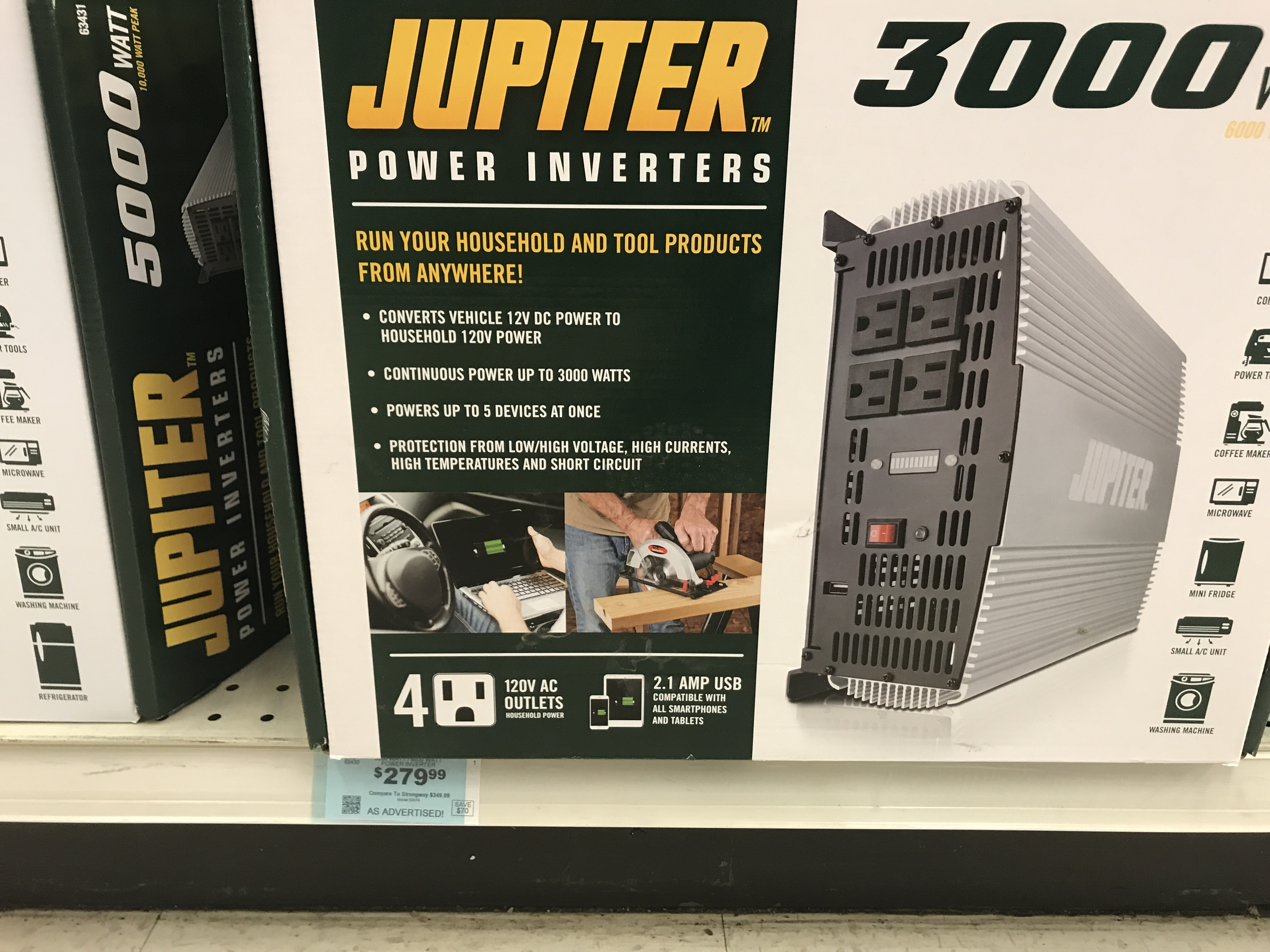 Solar Power For Boat Lift And Dock Ballofspray Water Ski Forum How To Build A100 Watt Pure Sine Wave Inverter Circuit Electronic A Jupiter 3000w Panel Thinking May Not Go Wrong Buying The 3 Year Warranty They Have 5000 W That Is 100 Bucks More