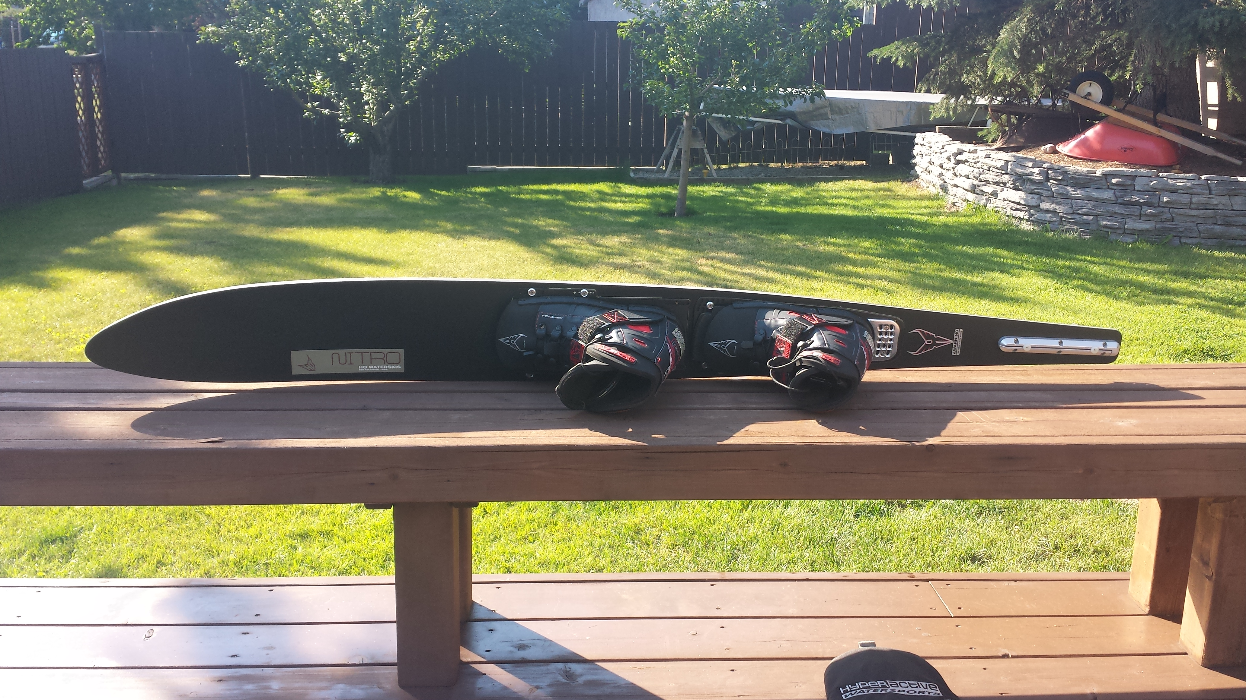 2007 Ho Nitro Waterski W Approach Bindings And Bag