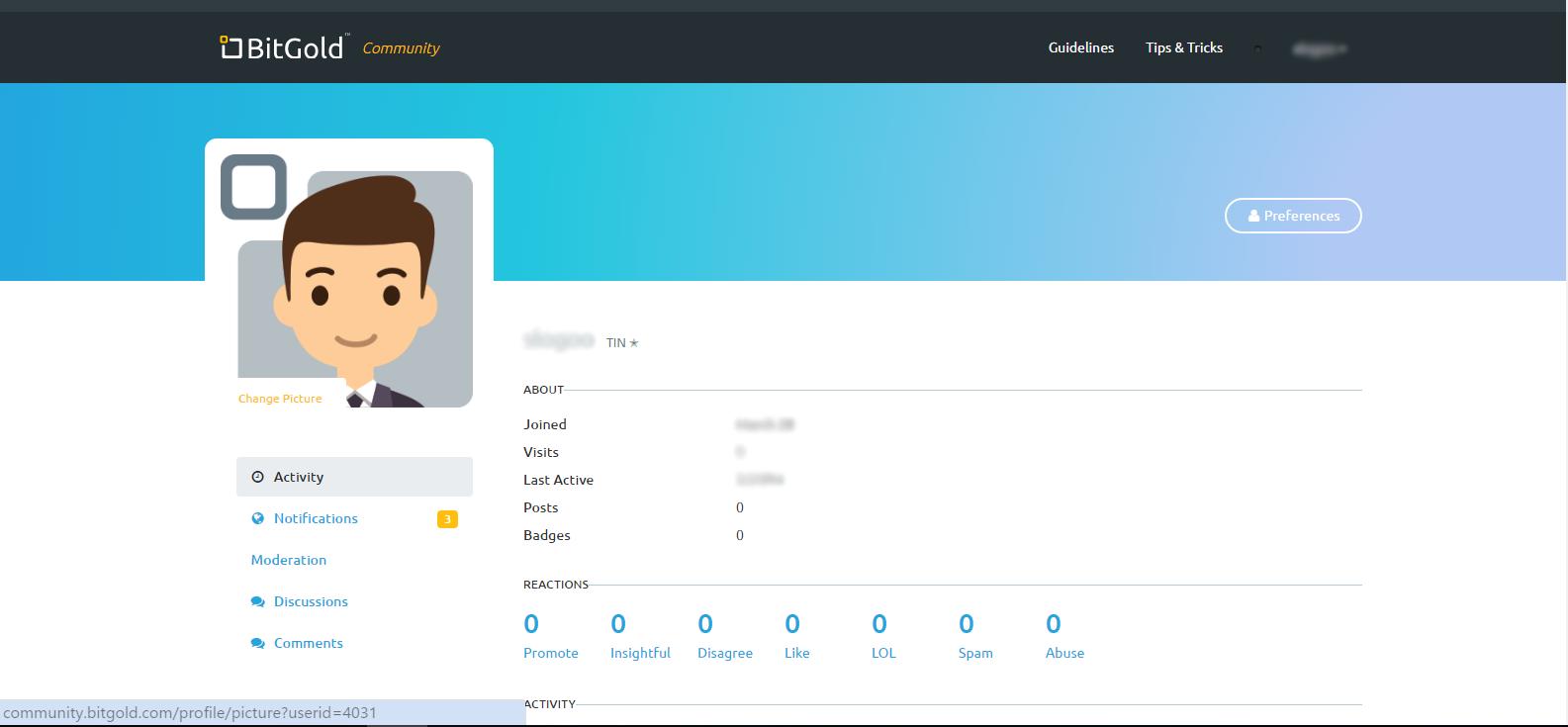 How do I upload an avatar