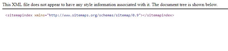 sitemap is empty resolved vanilla forums