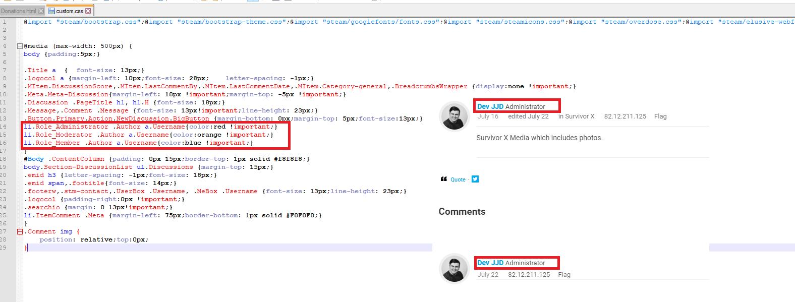 Plugin not working — Vanilla Forums