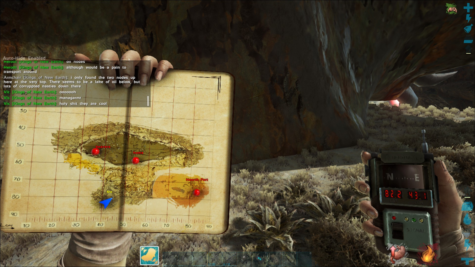 ARK: Survival Evolved] And on his back, the Disc    wait, no