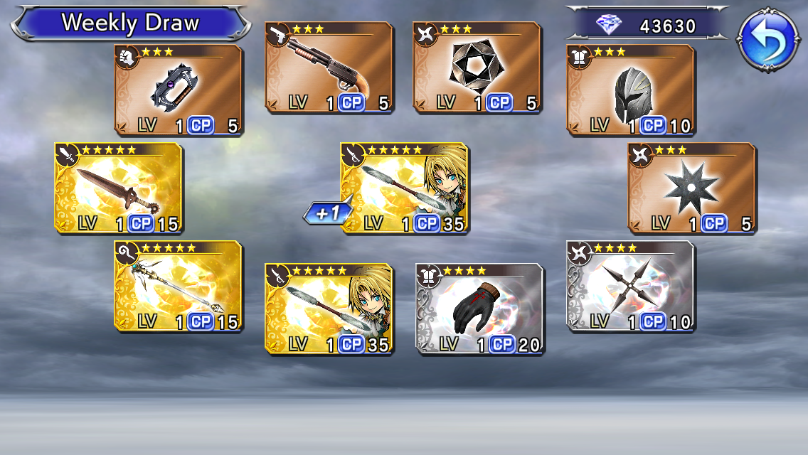 Dissidia Mobile Merrily We 70 Along With Paine And Noctis