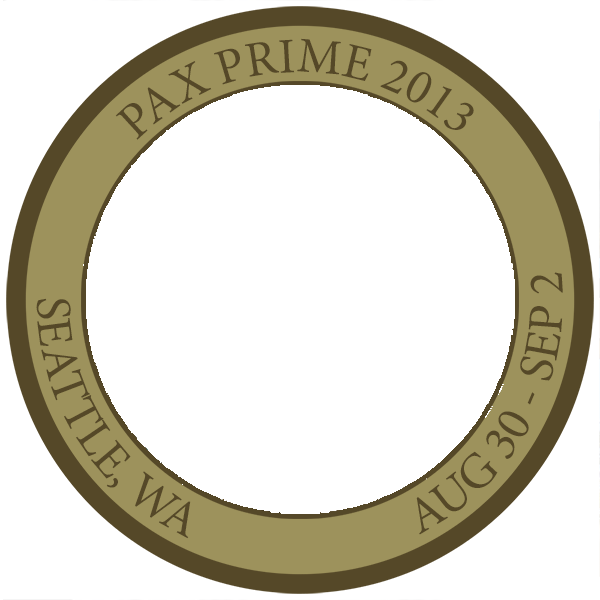 pax prime 2015 challenge coin additional coins available penny arcade. Black Bedroom Furniture Sets. Home Design Ideas