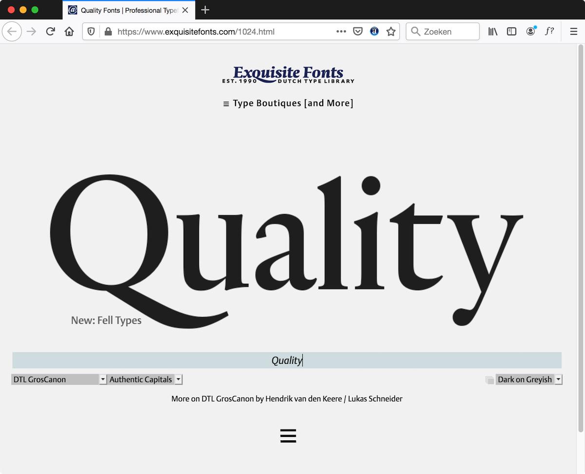 Exquisite Fonts