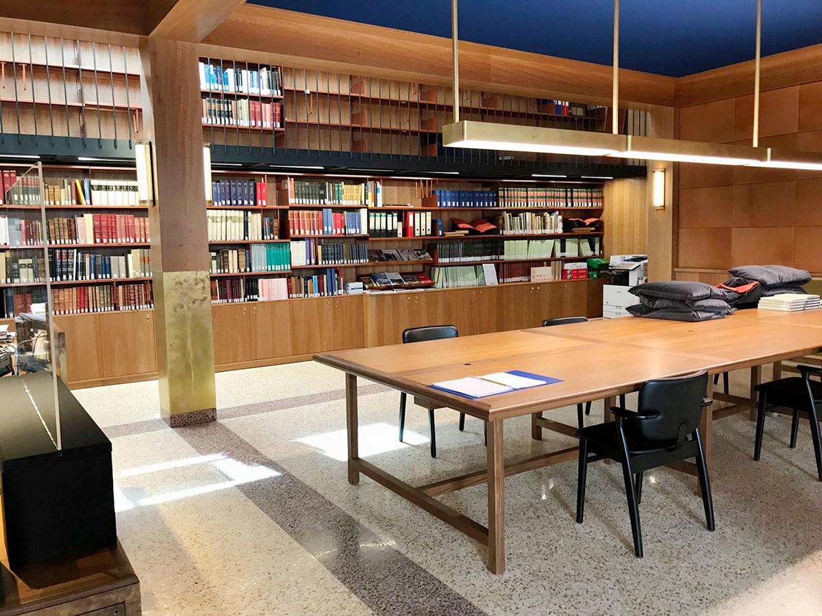 Reading room Museum Plantin-Moretus