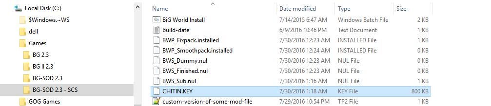 Tool] Big World Setup (BWS): Mod Manager for Baldur's Gate