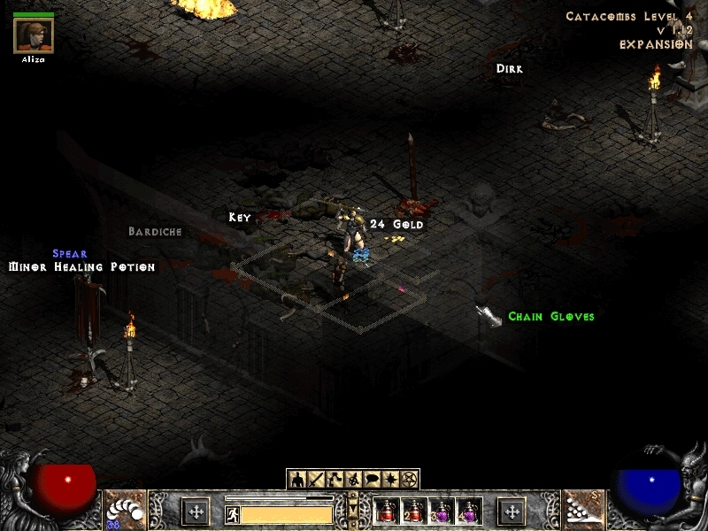 diablo 2 how to get rid of 2ed cube