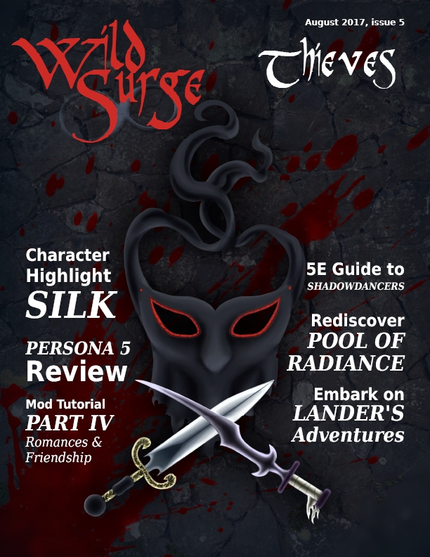 Wild Surge: The Thief Issue - Hot off the press! — Beamdog