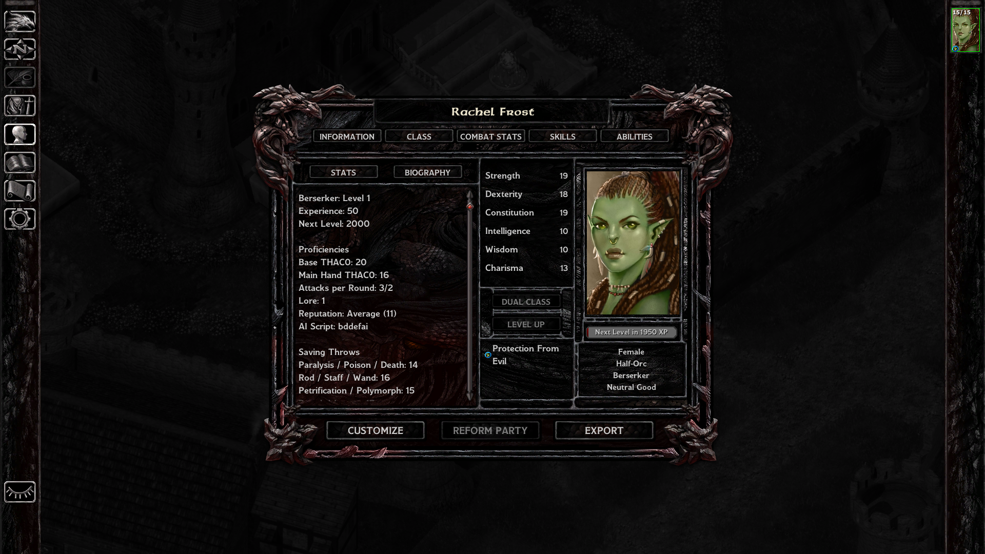 Best Build for a new player — Beamdog Forums