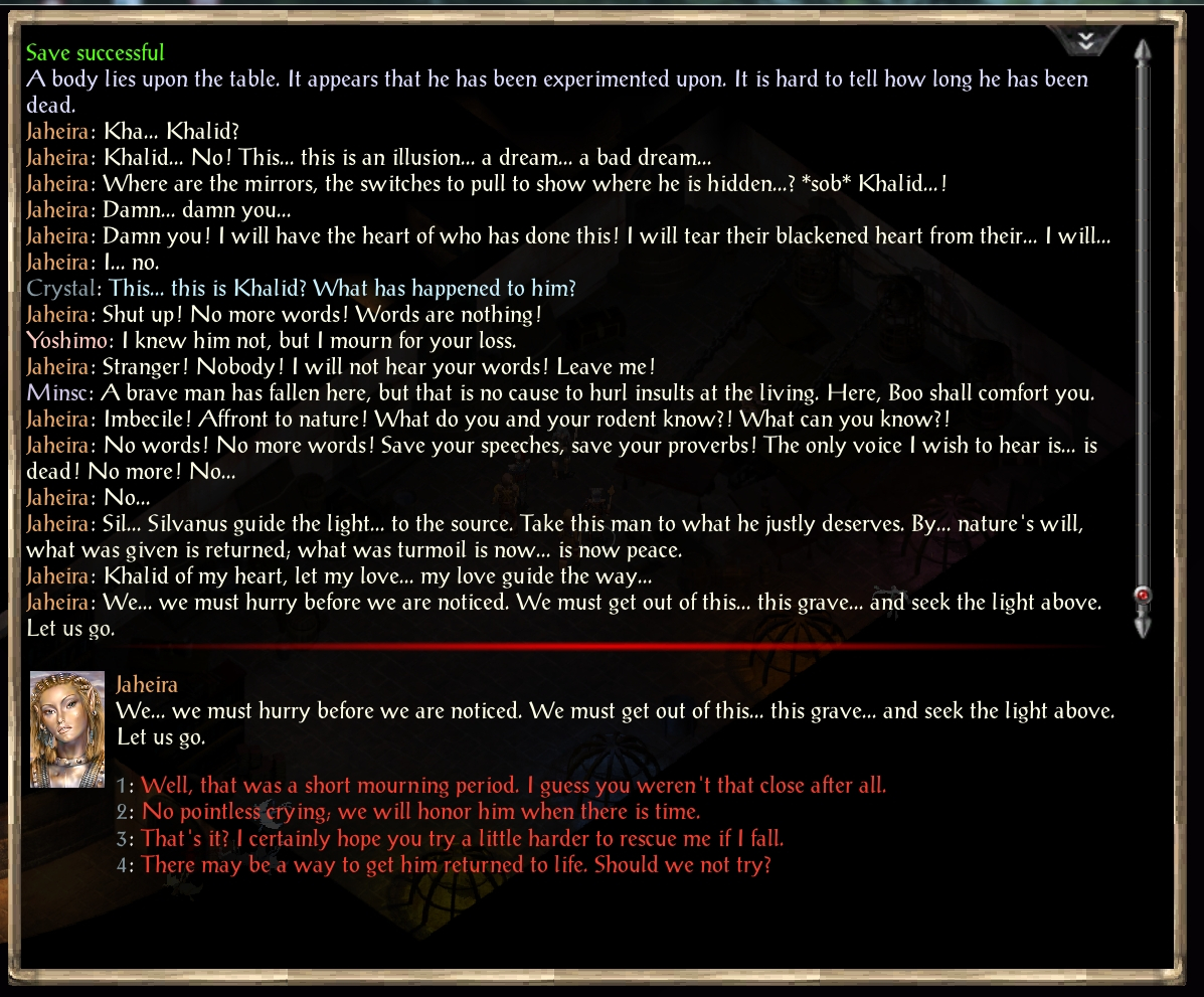 Spoiler] About Jaheira - Page 2 — Beamdog Forums