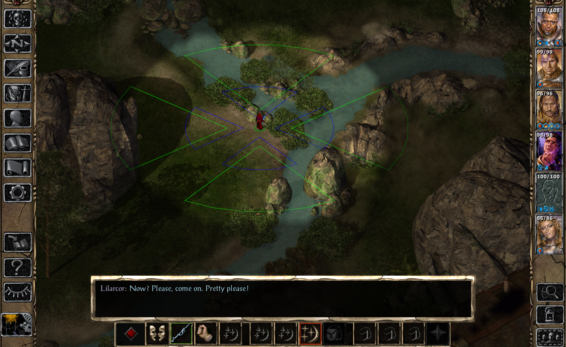 Blade song area really small — Beamdog Forums