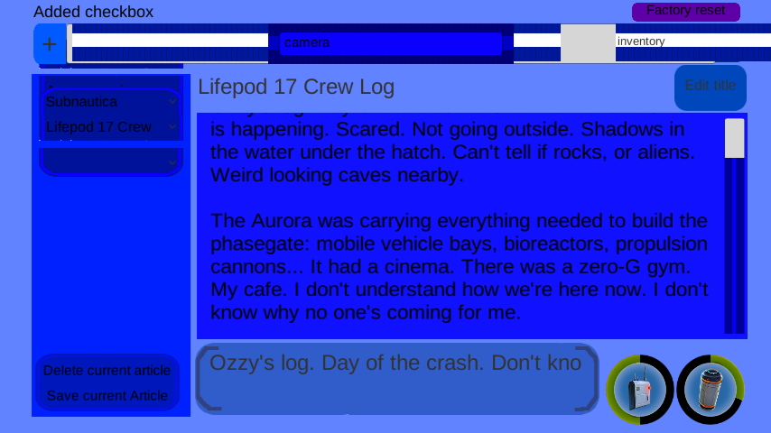 Development of the PDApp - Page 8 — Unknown Worlds Forums