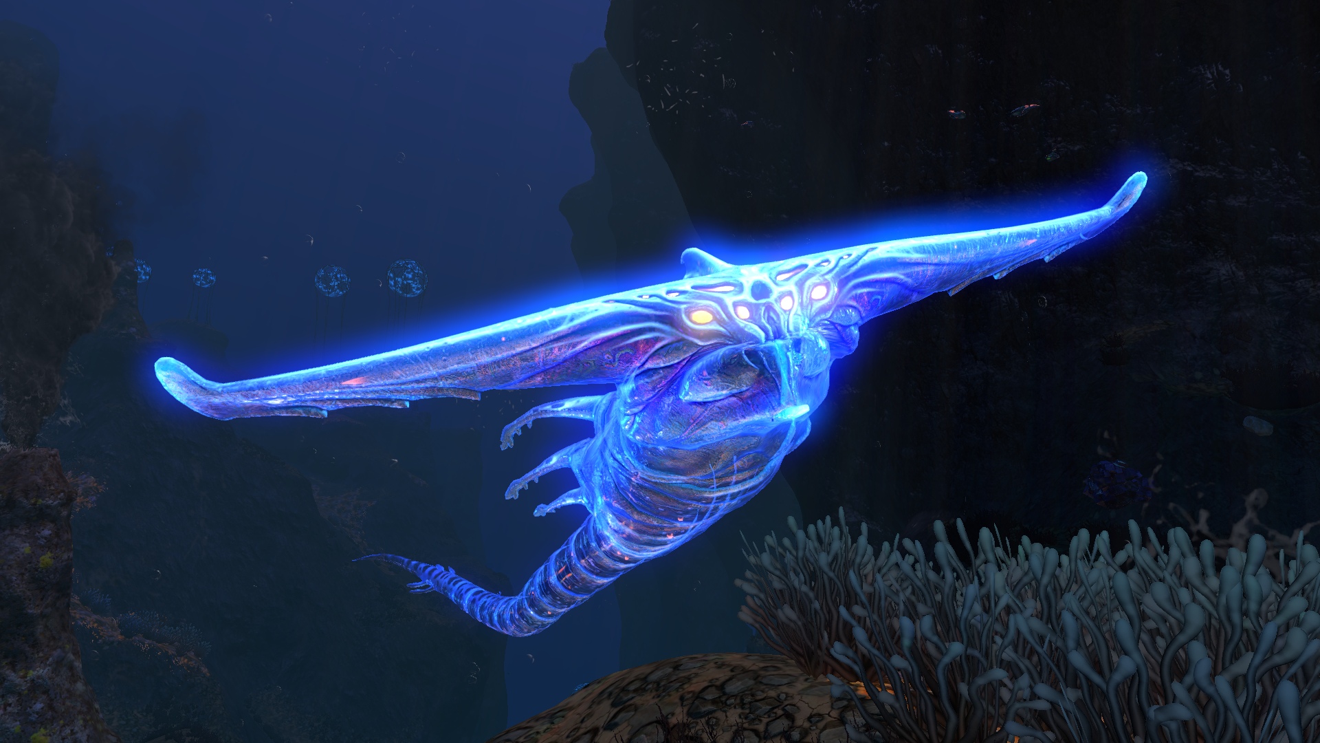 FULL-SIZED Ghost Leviathan Now Spawns in Grand Reef