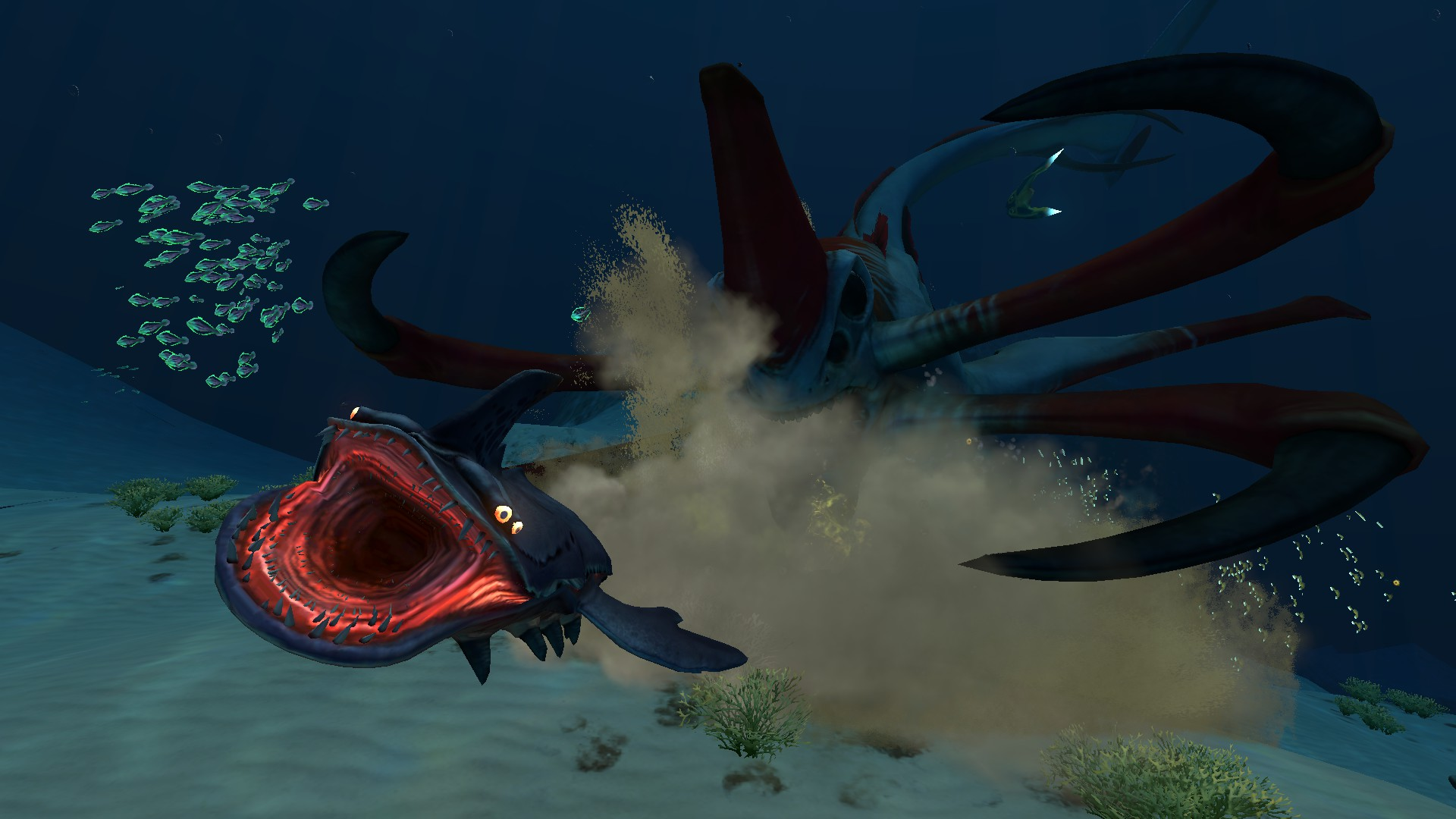 Scanning a Reaper Leviathan — Unknown Worlds Forums