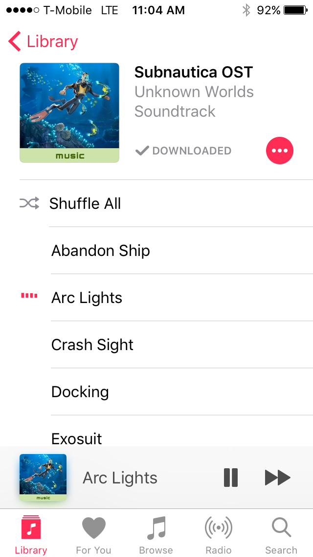 Subnautica OST — Unknown Worlds Forums