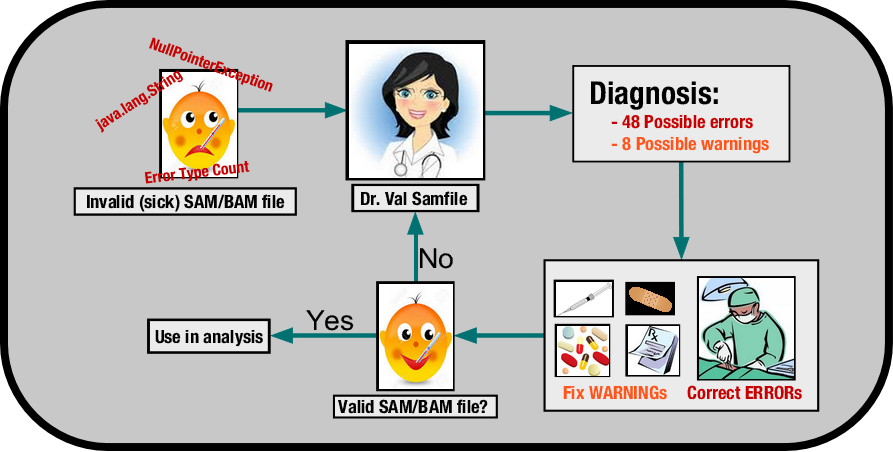 The doctor is in: diagnosing sick SAM/BAM files — GATK-Forum