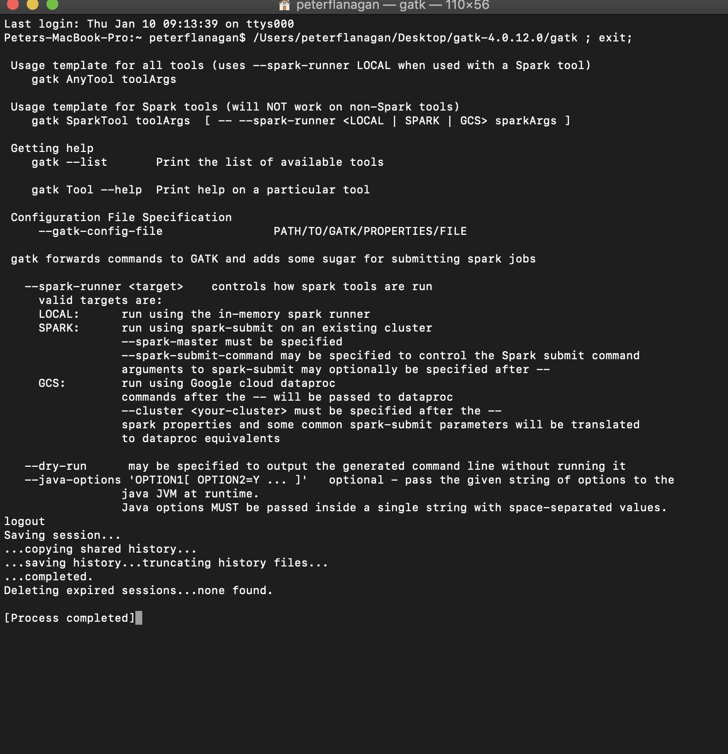 Can't open GATK GUI on MacBook Pro — GATK-Forum