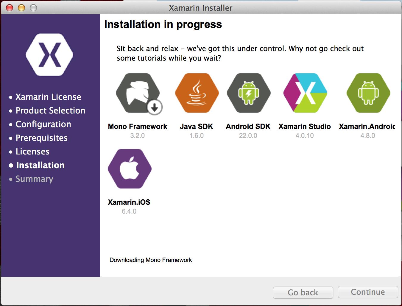 Xamarin Installer problem on Mac OS X — Xamarin Community Forums