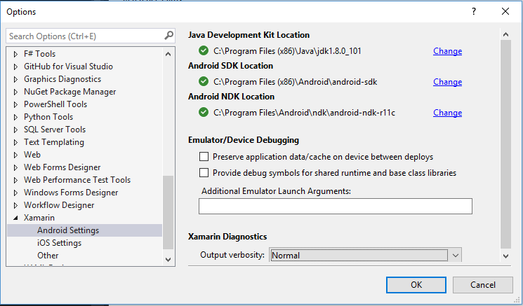 How do I know which version Android SDK and Java API is