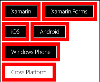 How do you change the Frame Padding on WinPhone? — Xamarin