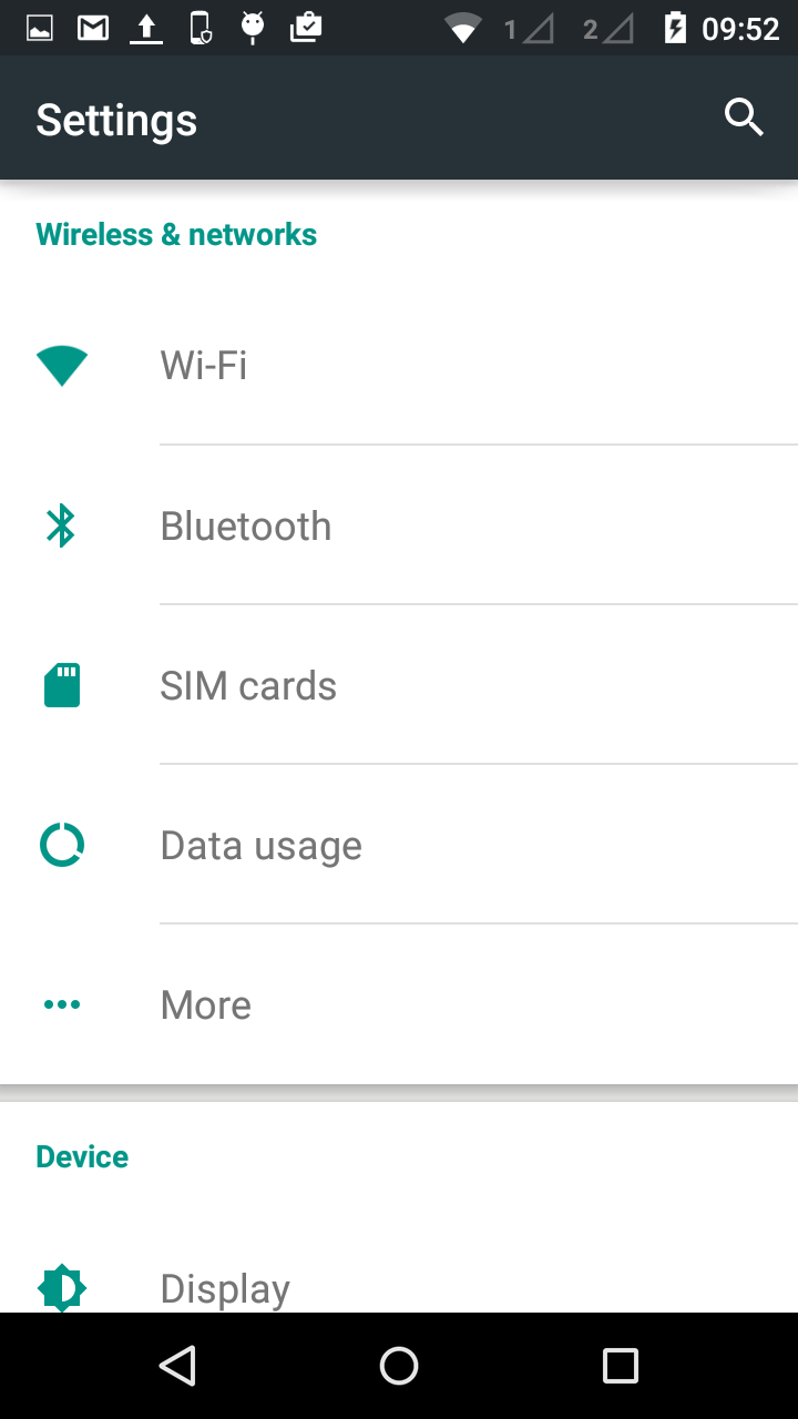 TableView rendering on Android (Settings app like) — Xamarin