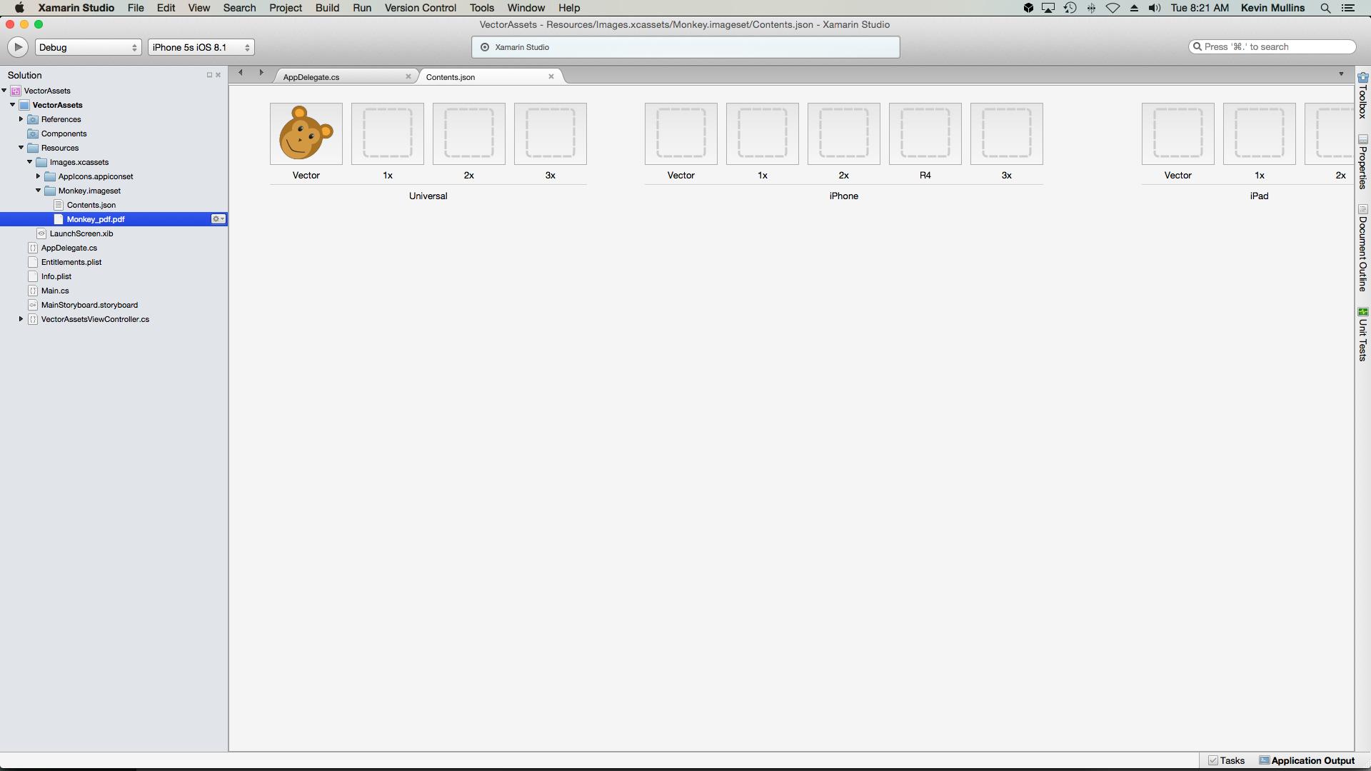Adding SVG file in Resources folder causes Xamarin designer